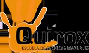 Quirox Escuela de Masajes en Vigo Logo